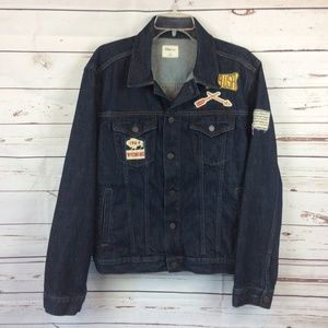 Gap Patch Denim Jacket, Size L
